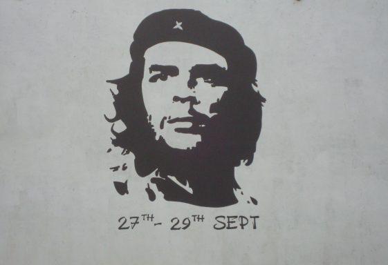 Ché Guevara in Kilkee