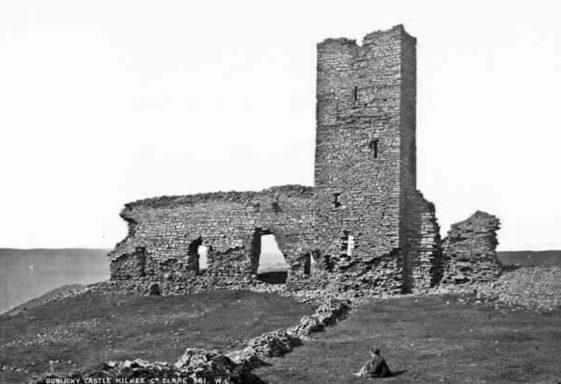 Dunlicky Castle and Illaunonearaun/ Healys Island