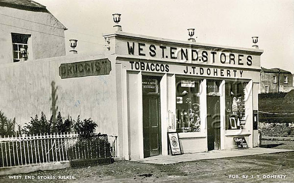 The old West End Stores