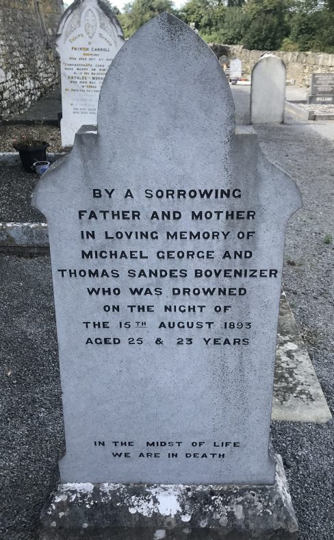 Outing to Kilkee leads to drowning disaster on 15th August 1893.   Robert Brown