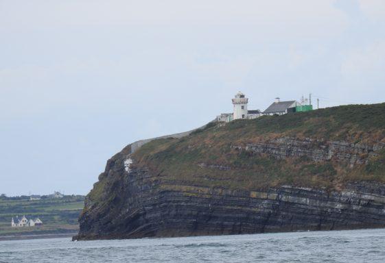 Kilcredaun Lighthouse.